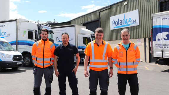 Polar Ice Drivers - Photo of our Transport Team