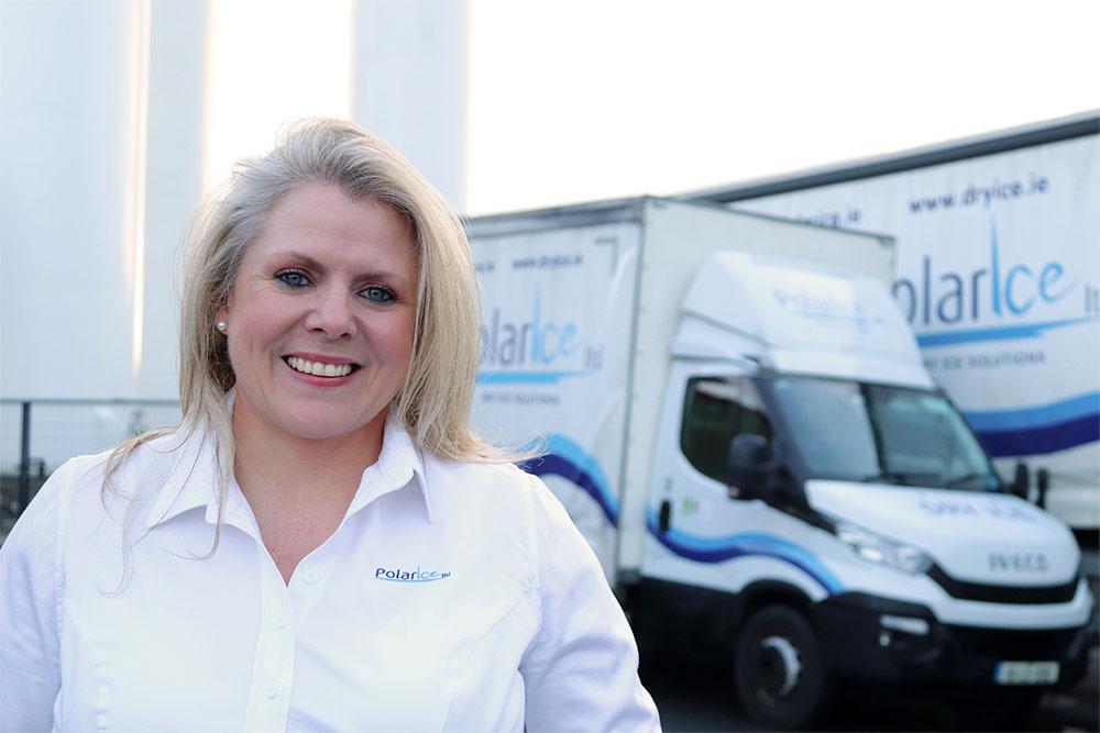 Denise Ryan, Transport Manager for Polar Ice
